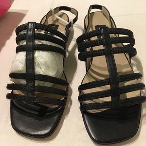 Vaneli black sandals size 9